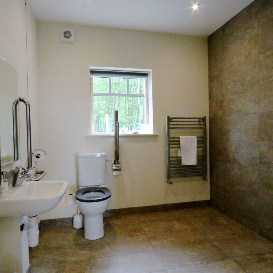 Accessible Room Ensuite Wet Room