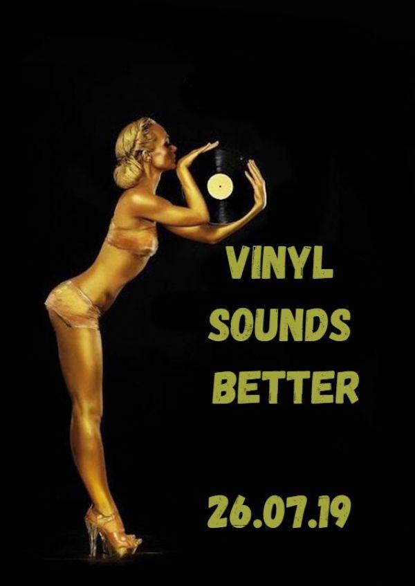 Vinyl Sounds Better: DJ Night