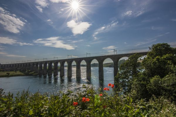 Royal Border Bridge Danny Spring is near Ness Street Holiday Cottage