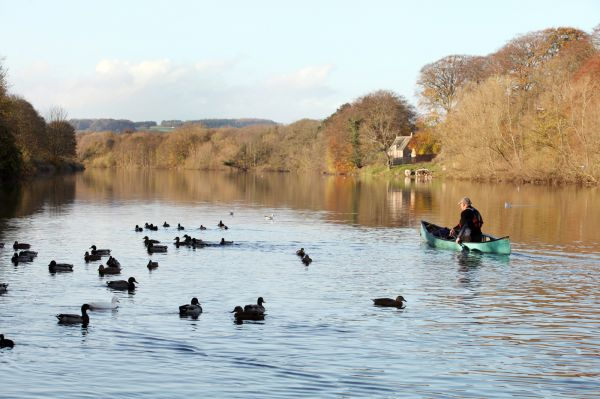 Canoeing on the Tyne