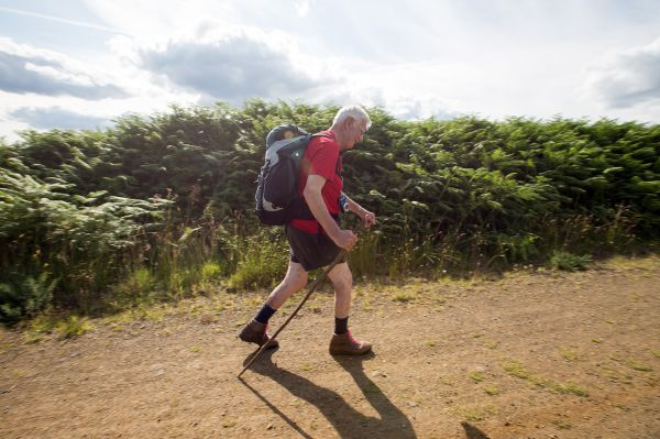 man walking is near Kielder Observatory - Specialist Events