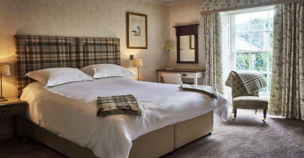Bedroom is near Hexham Tourist Information Centre