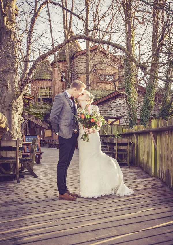 Treehouse Wedding  is near Dene View Cottage