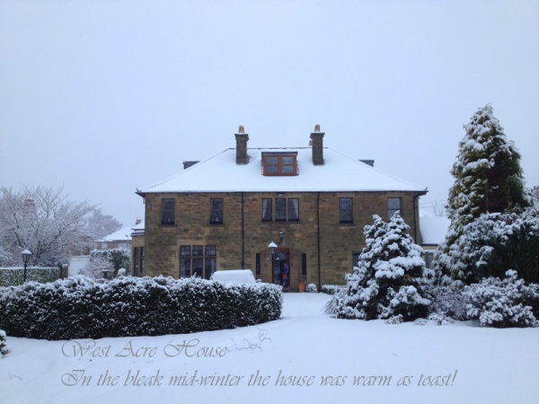 West Acre in Snow