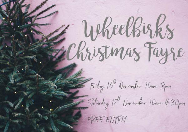 Wheelbirks Parlour Christmas Fayre