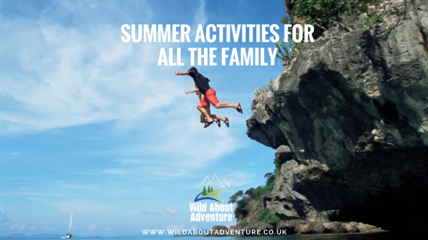 Summer activities is near Battlesteads