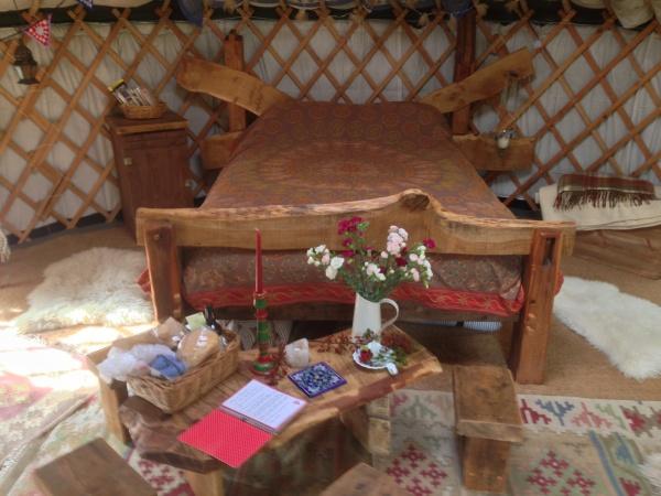 Merle Yurt interior
