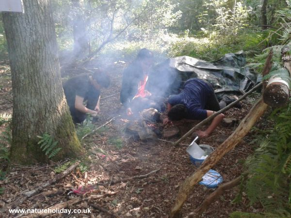 Wilderness Survival Challenge 8 to 13s