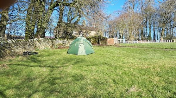 Camping at Winshields on Hadrian's Wall