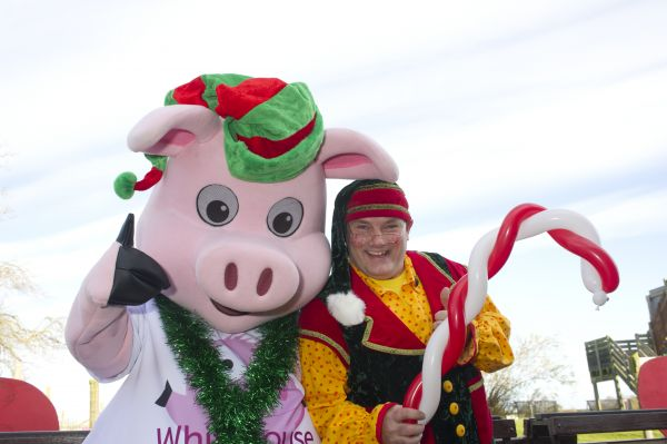 Head Elf & Nelson the Pig