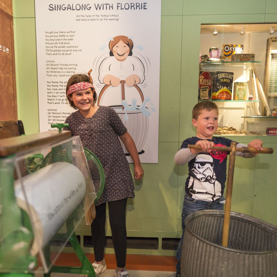 Interactive displays and exhibits bring Coal Town to life for all ages