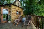 Treehouse veranda
