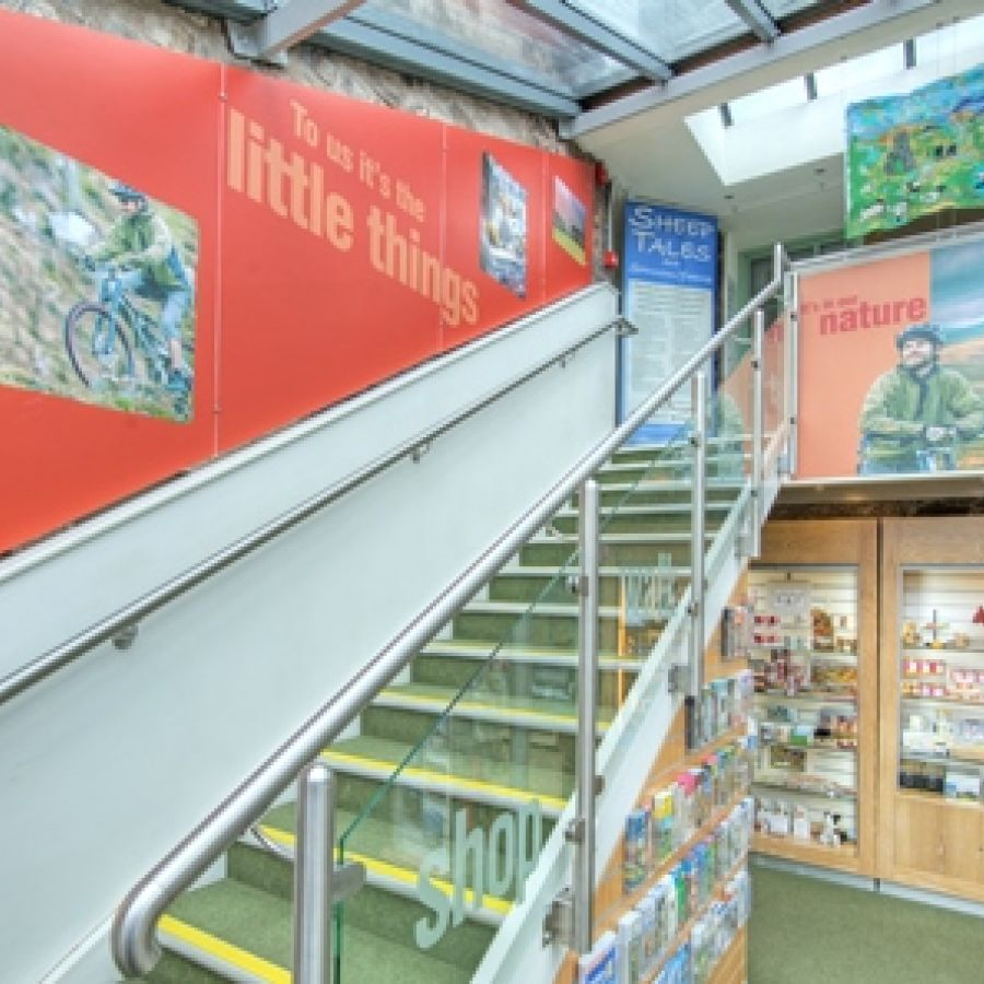 Tourist Info Centre interior