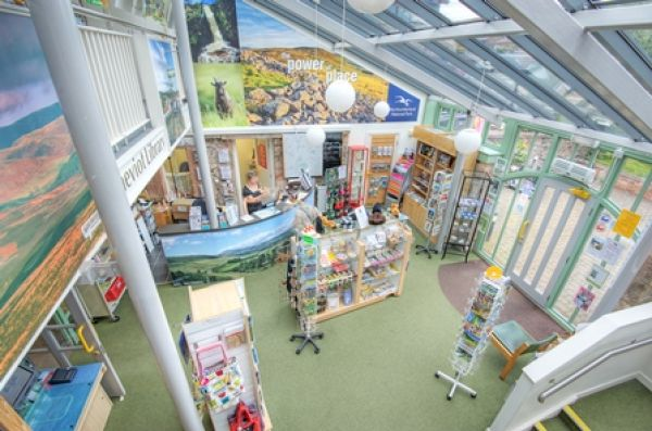 Tourist info centre interior 2