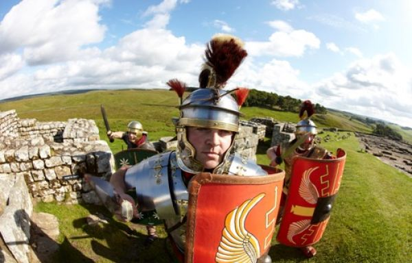 Six mini adventures to have at Housesteads Roman Fort
