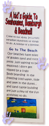 A Kids Guide to Seahouses