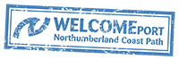 Northumberland Coast Path Welcome Port
