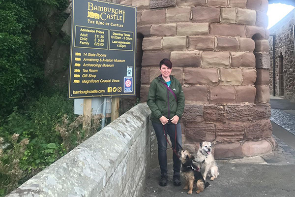 Dog Friendly Bamburgh Castle