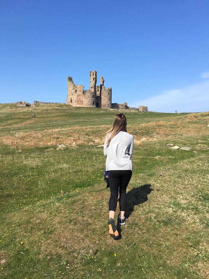 Walking in Craster