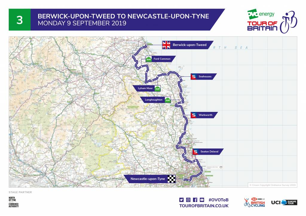Stage 3 - Tour of Britain 2019
