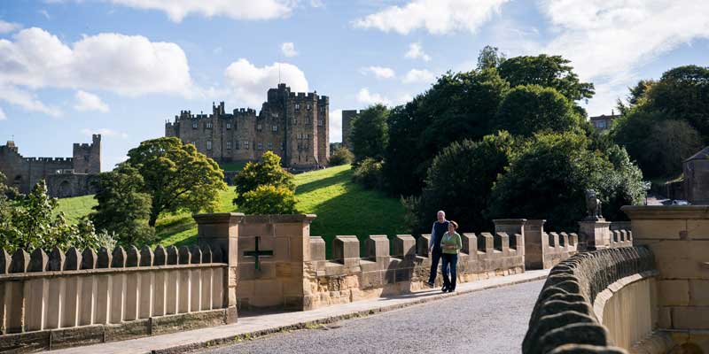 Alnwick Castle walk