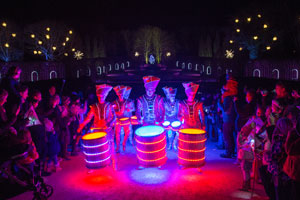 Grand Lantern Parade at Alnwick Garden