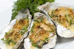 Lindisfarne Grilled Oysters