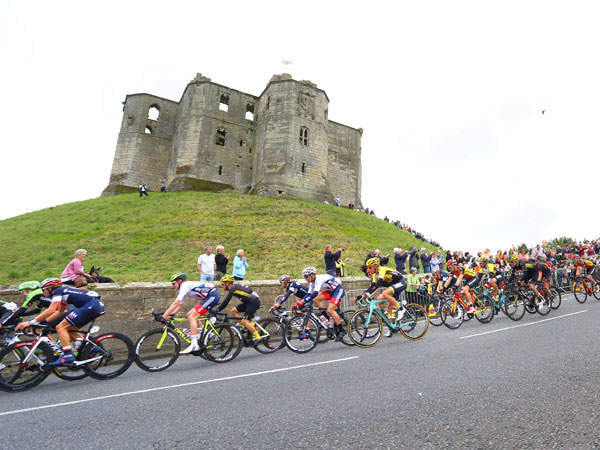 Iconic landmarks of Northumberland