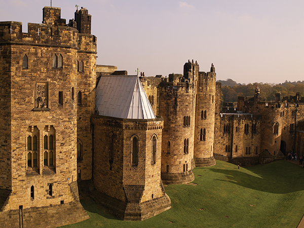 Alnwick Castle inner keep