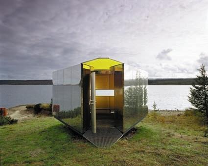 Kielder Water Belvedere installation