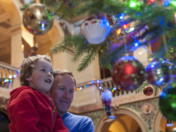 Festive family fun at Wallington