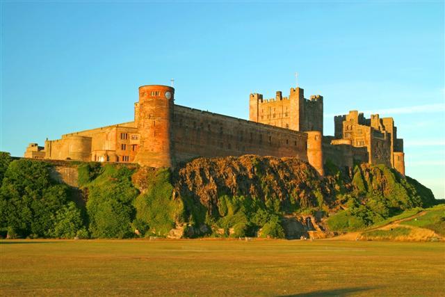 Bamburgh Castle credit M Czekirda