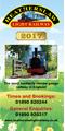 Heatherslaw Railway 2017 Leaflet