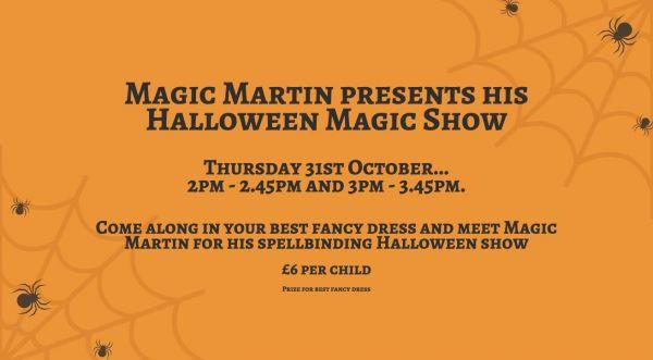 halloween magic show