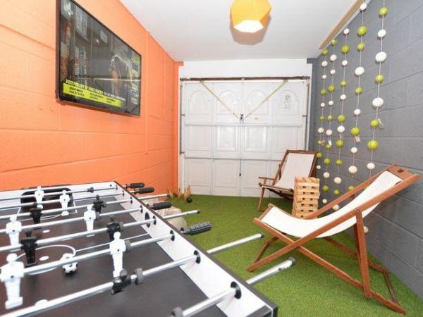 A games room