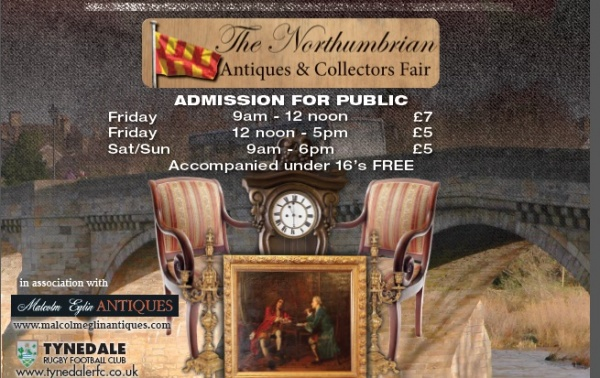 "Large crowds are expected at the very first ""Northumbrian Antiques & Collectors Fair""."