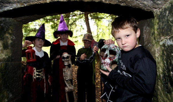Send a shiver down your spine this half-term with National Trust