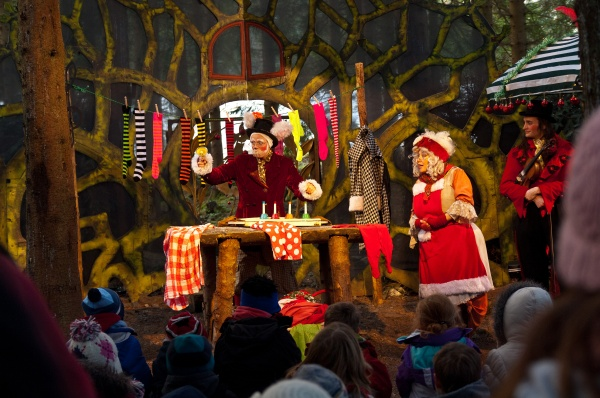 Kielder Winter Wonderland lights the way for charity