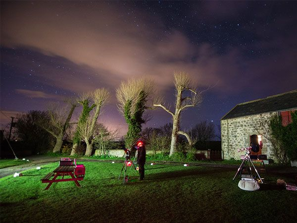 Northumberland Coast AONB Stargazing