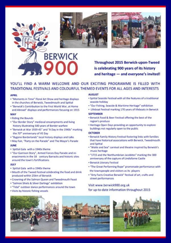 Berwick 900 festival open day
