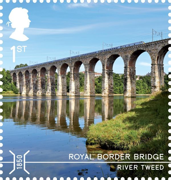 Royal Border Bridge features on New Stamp!