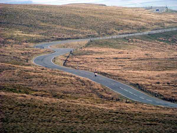 Northumberland's A686 in Top 10 Best Road Trips