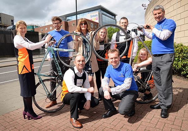 Sintons staff to ride Virgin Money Cyclone Challenge