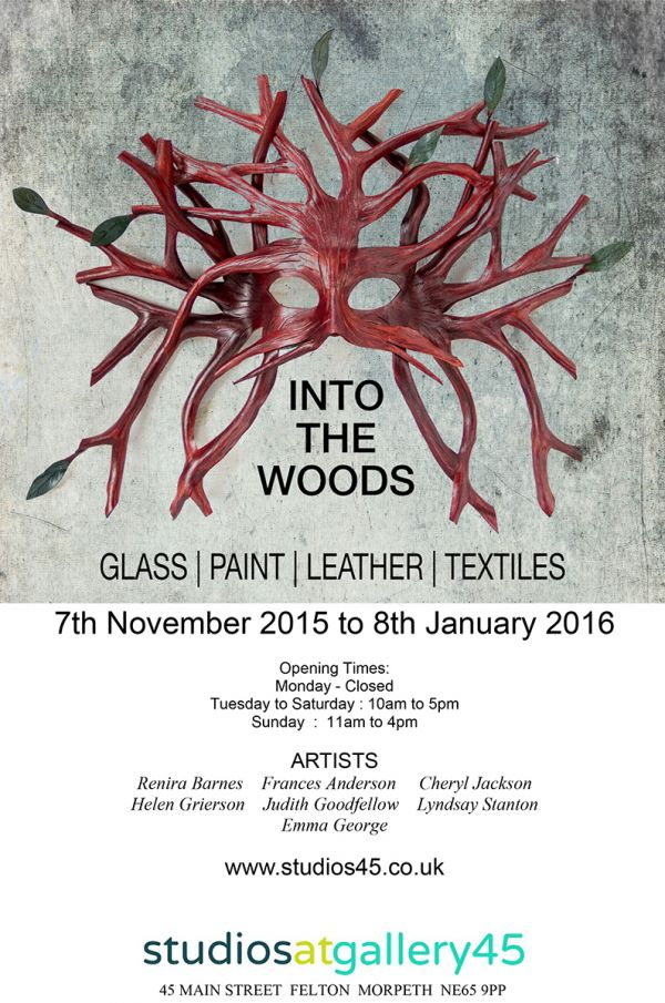 Into The Woods exhibition at Gallery45