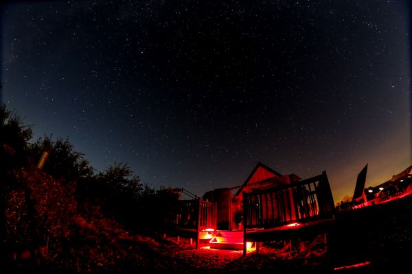 Marvel at the Geminids meteor shower from Battlesteads Dark Sky Discovery Site