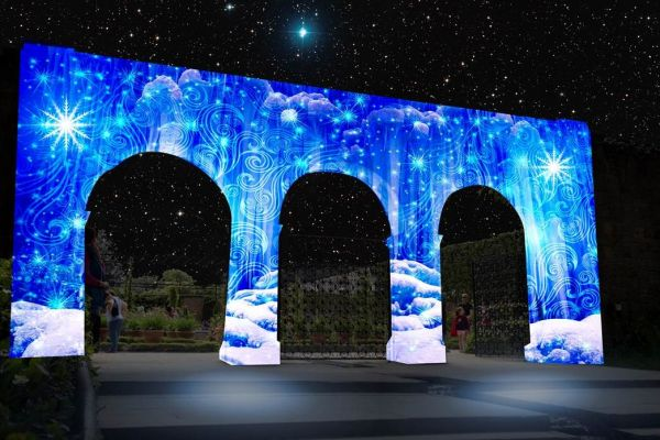 Alnwick Garden to become enchanting winter wonderland