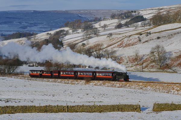 Santa Specials at South Tynedale Railway