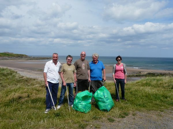 Volunteering project on the Northumberland coast wins Heritage Lottery Fund support