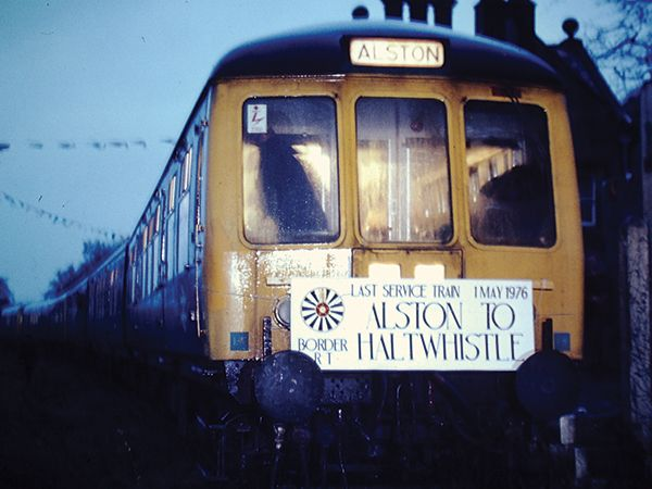 South Tynedale Railway commemorates the 40th anniversary of the British Rail line closure
