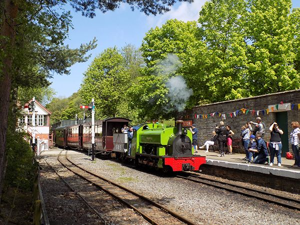 A Glorious Weekend at South Tynedale Railway